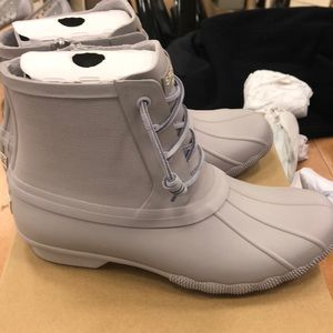 Sperry Saltwater Flooded Lavender Boots